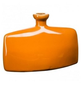 Vaasje oranje 13cm