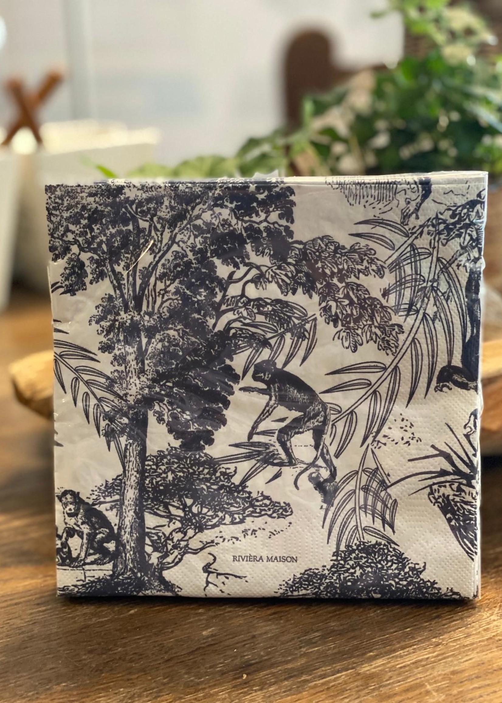 Riviera Maison Paper Napkin Joie De Vivre