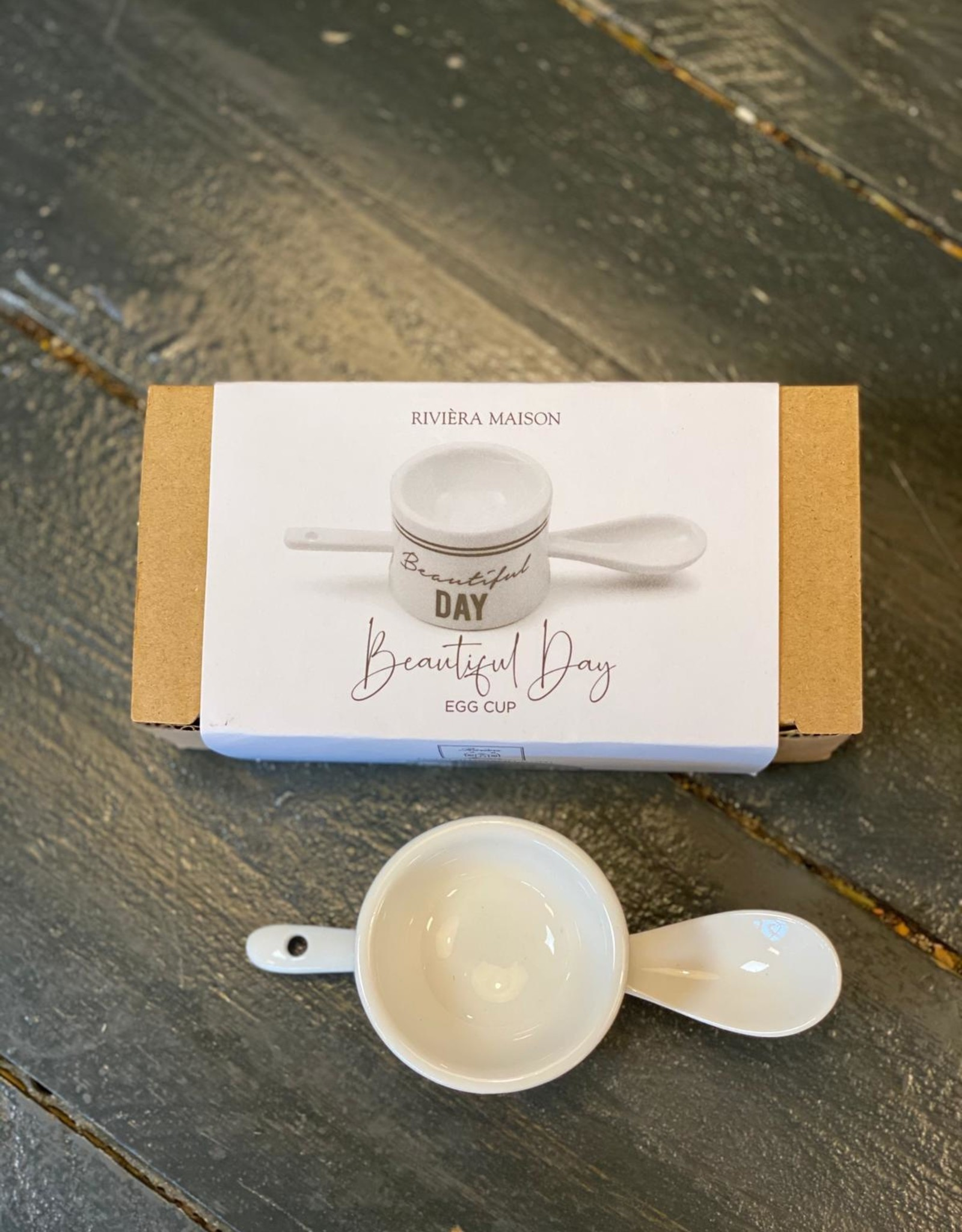 Riviera Maison Beautiful Day Egg Cup