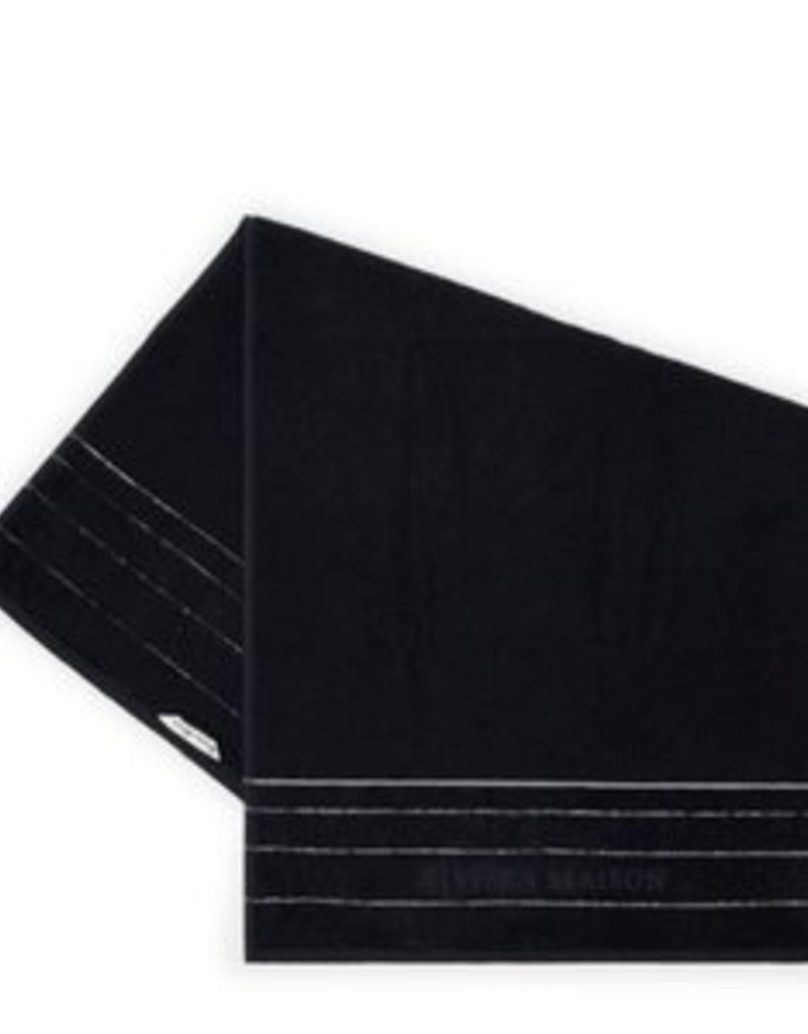 Riviera Maison RM Elegant Towel black 140x70