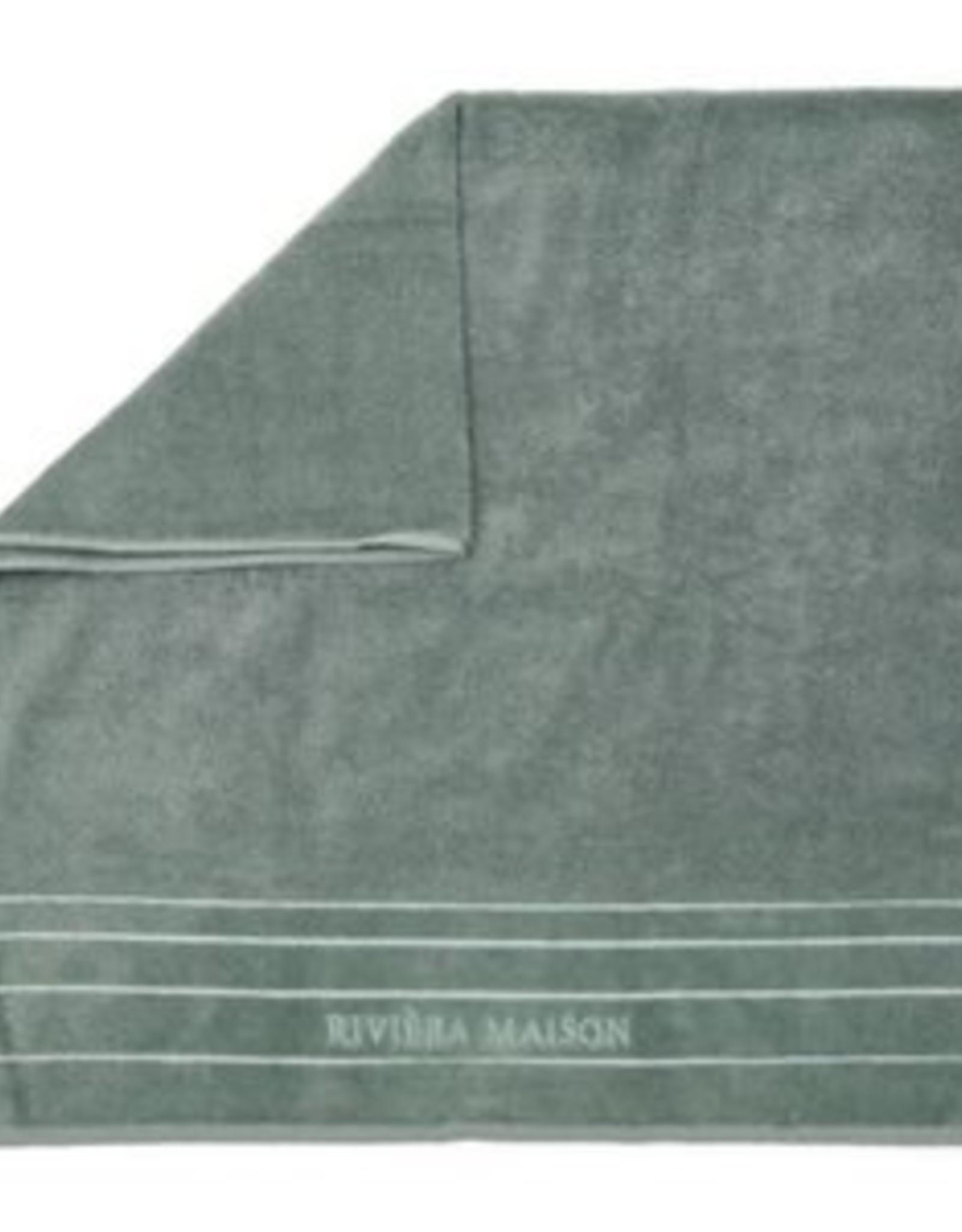 Riviera Maison RM Elegant Towel moss 100x50