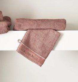 Riviera Maison RM Elegant Washcloth plum