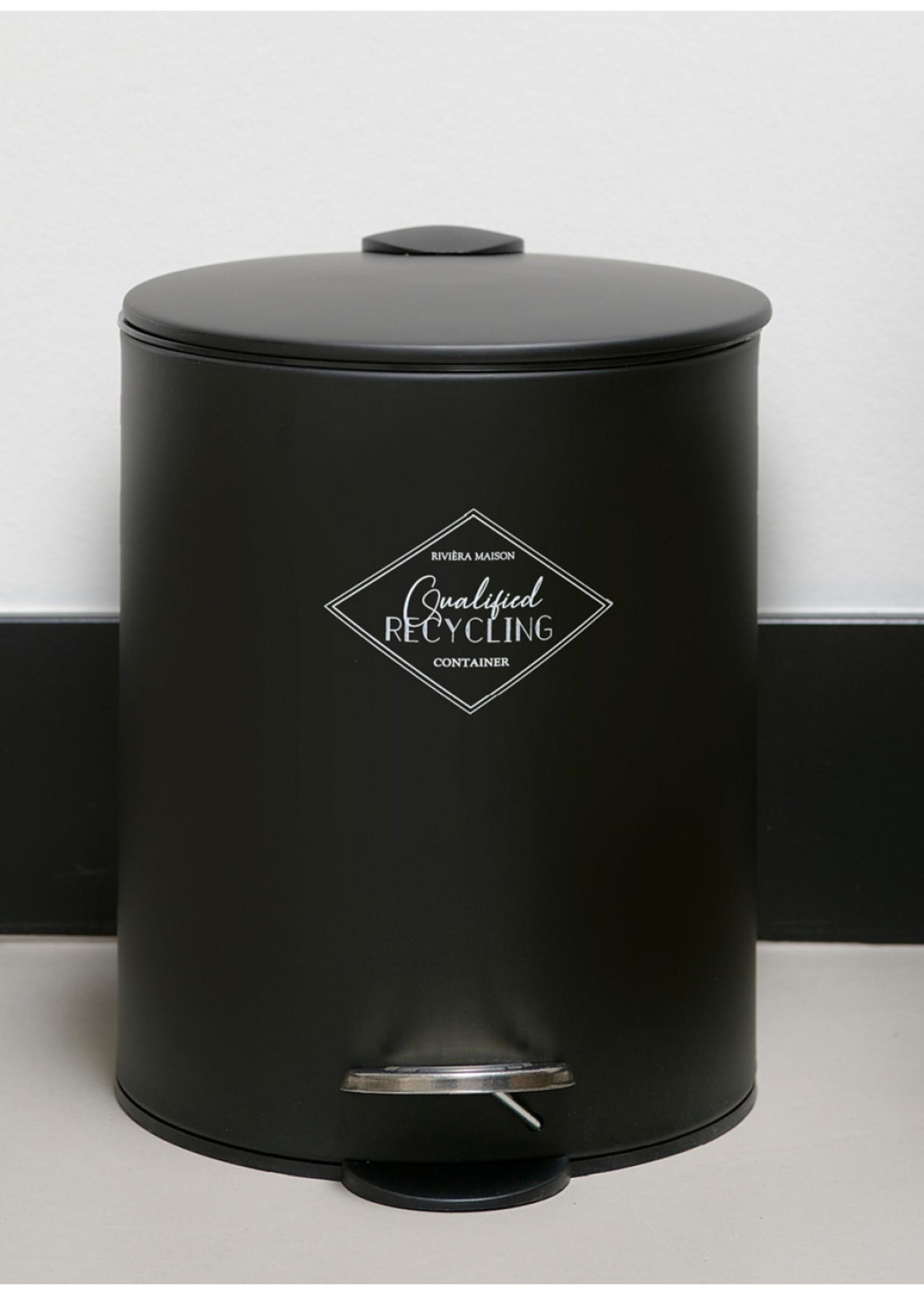 Riviera Maison Qualified Recycling Waste Bin S