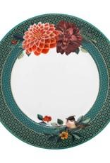 pip studio Plate Winter Wonderland Big Flower Green 21 cm