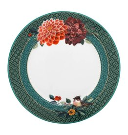 pip studio Plate Winter Wonderland Big Flower Green 21 cm