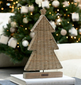 Riviera Maison Rustic Rattan Flat Christmas Tree