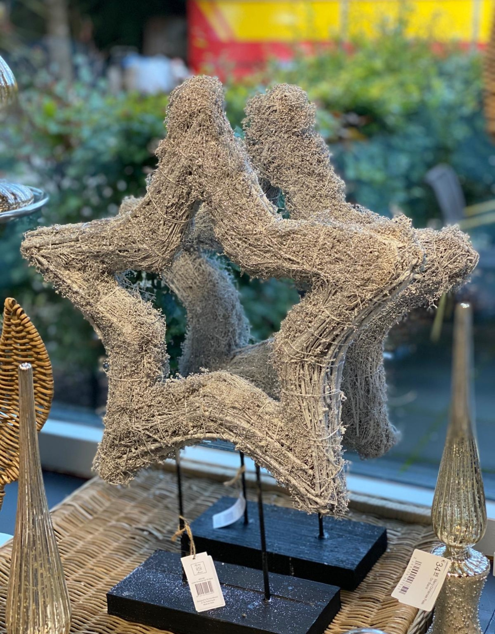Riviera Maison Lovely Christmas Star On Stand