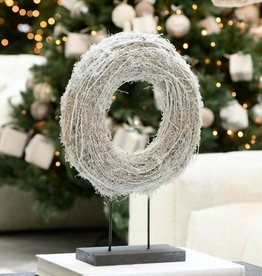 Riviera Maison Lovely christmas wreath on stand