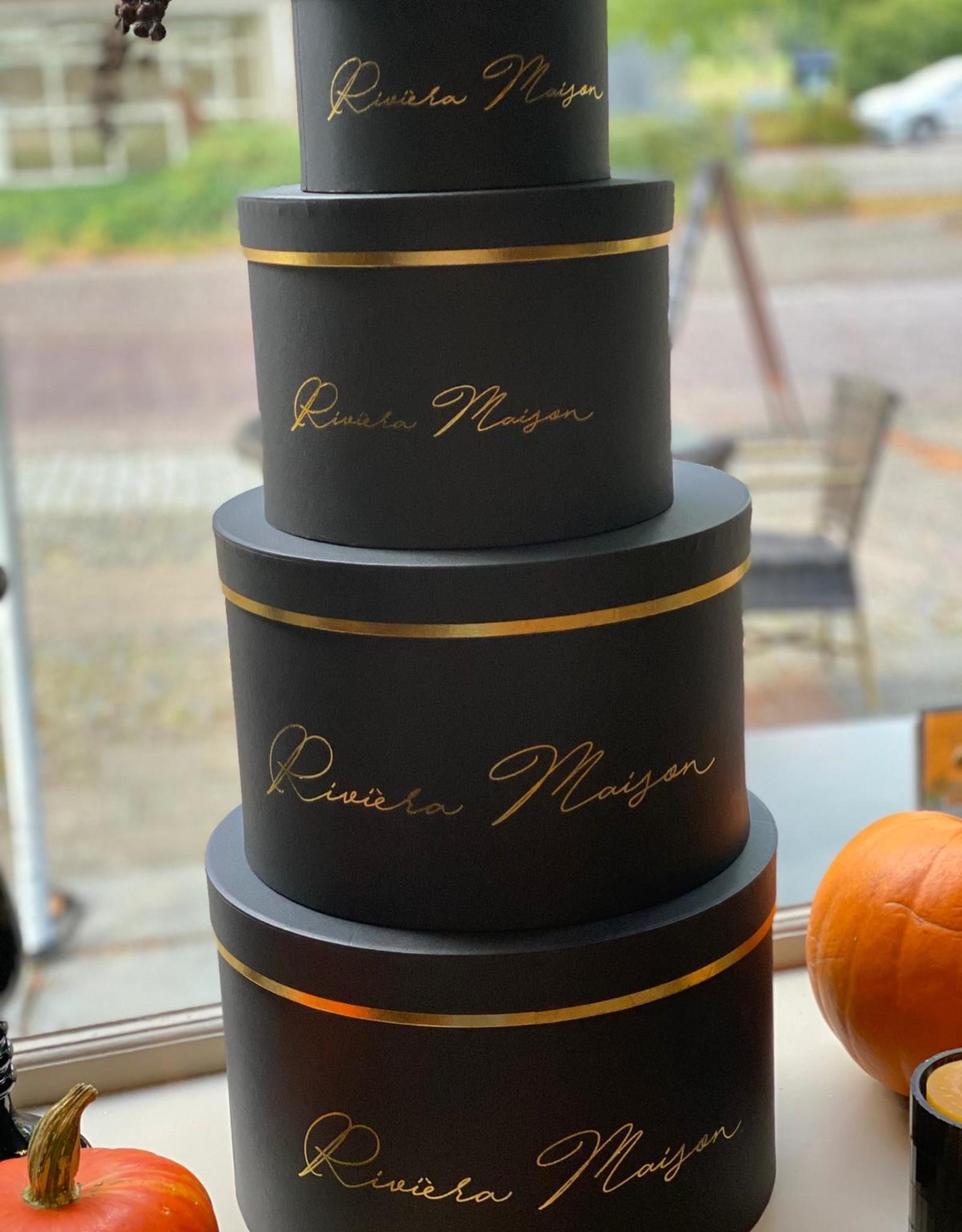 Riviera Maison RM Giftbox black Set of 4 pieces