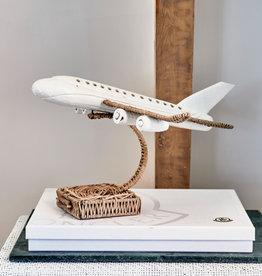 Riviera Maison Rustic Rattan Plane On Stand