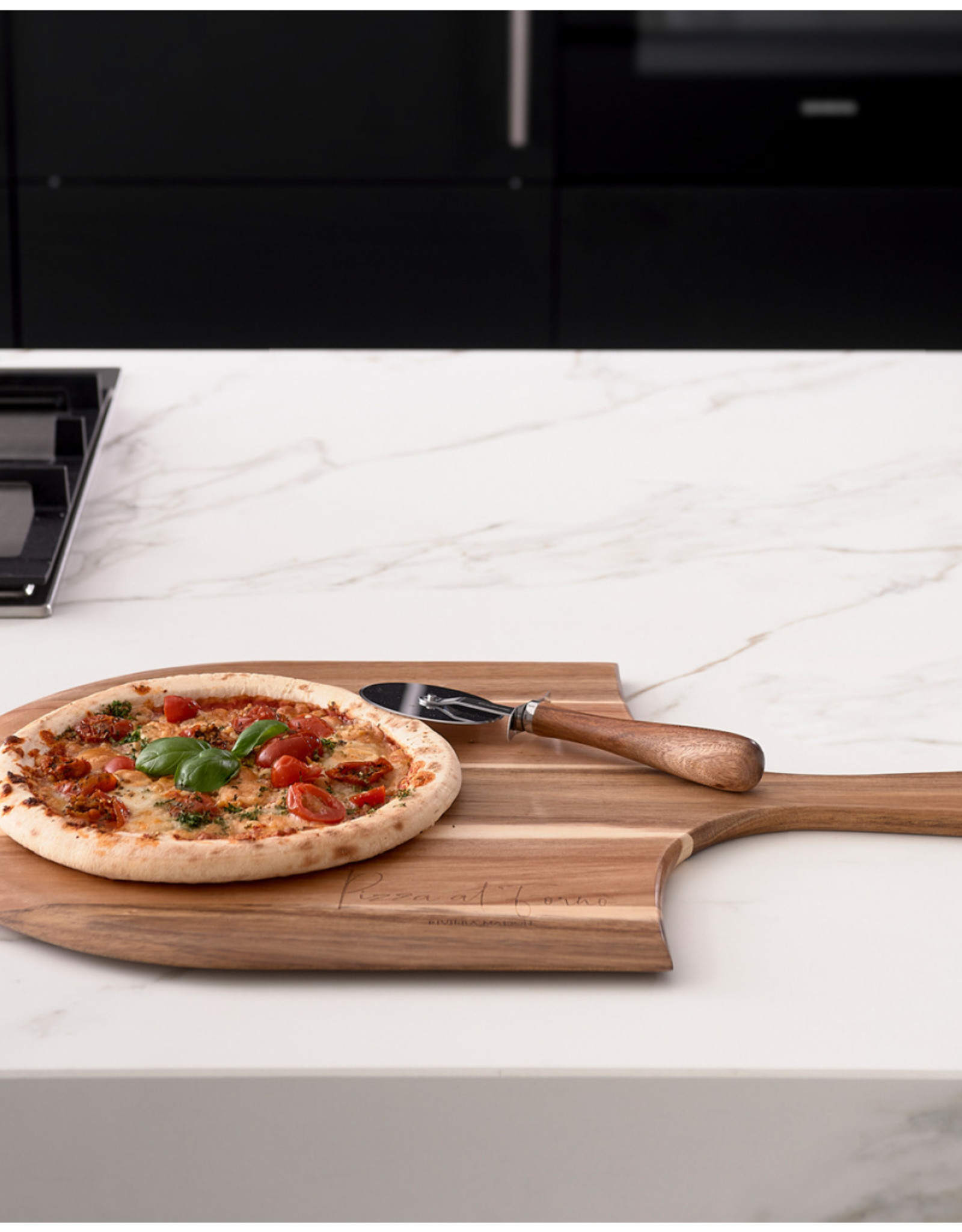 Riviera Maison RM Pizza Platter With Cutter