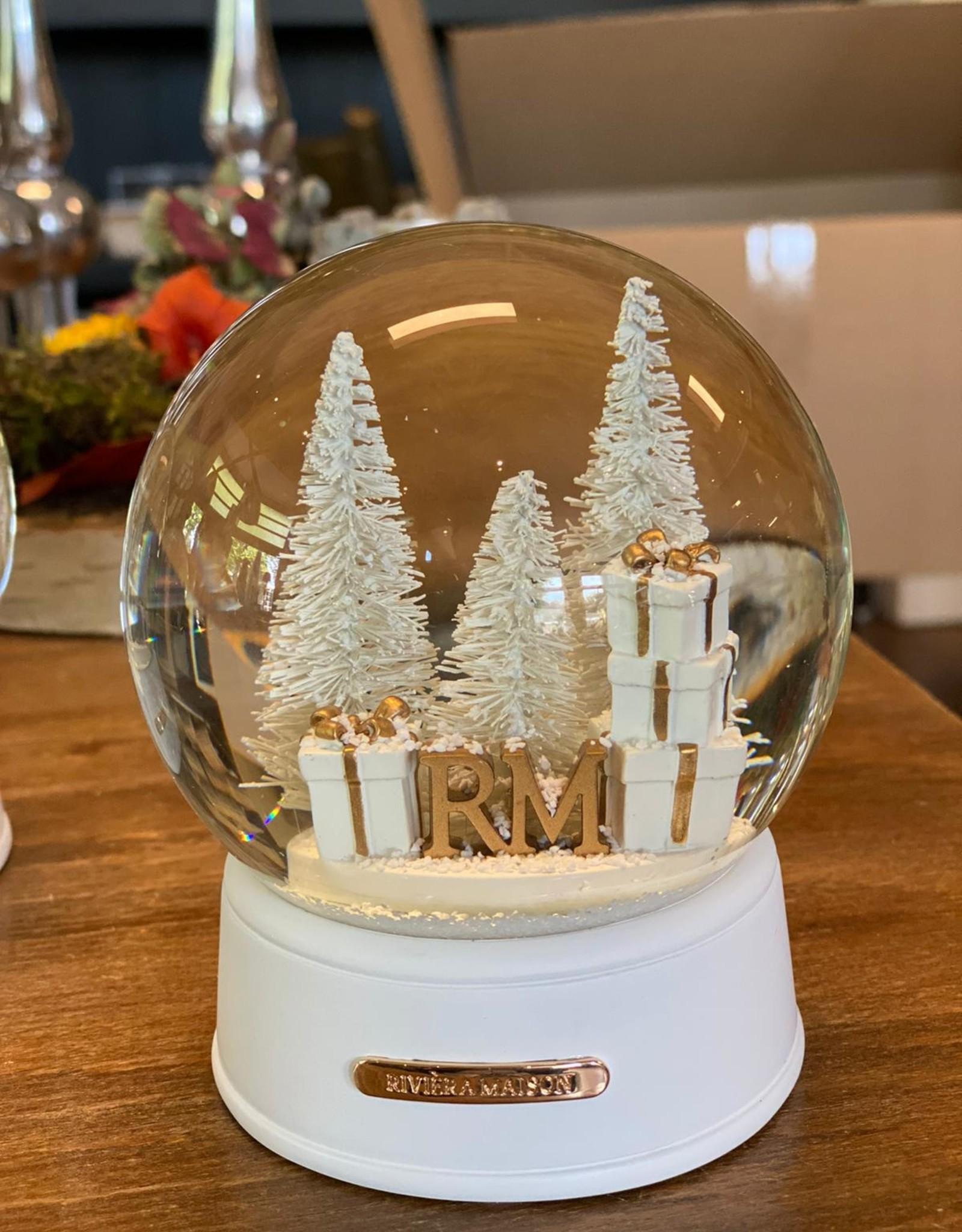 Riviera Maison RM loves Christmas Snowglobe