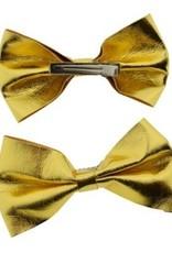 Strik goud op clip set 10 cm