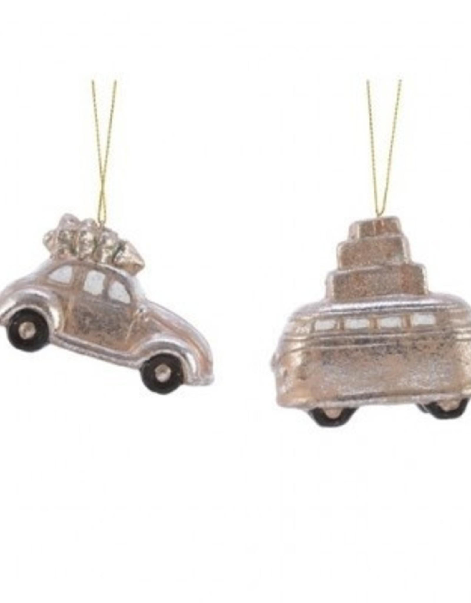 Auto terracotta hang assorti 8 cm