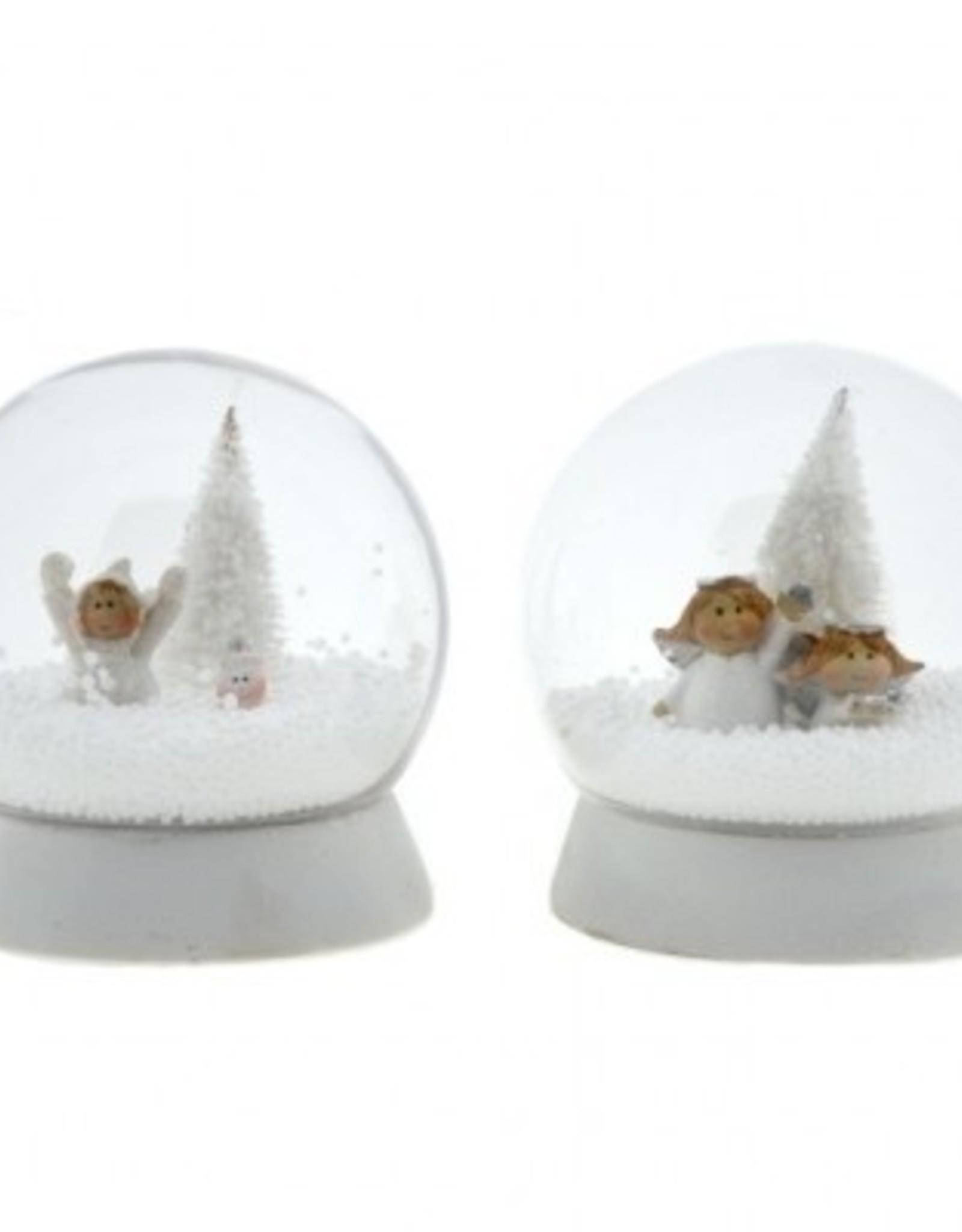 Sneeuwbol 10 cm assorti model