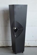 Standaard metaal zwart 93 cm