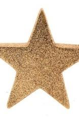 56400 Glitter ster keramiek goudkleur 30 cm