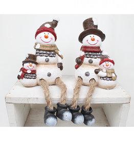 Sneeuwpop met Baby