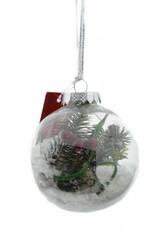 Kerstbal 8 cm