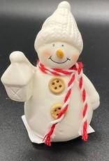 Sneeuwpop met lange neus
