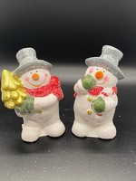 Keramiek  Sneeuwpop