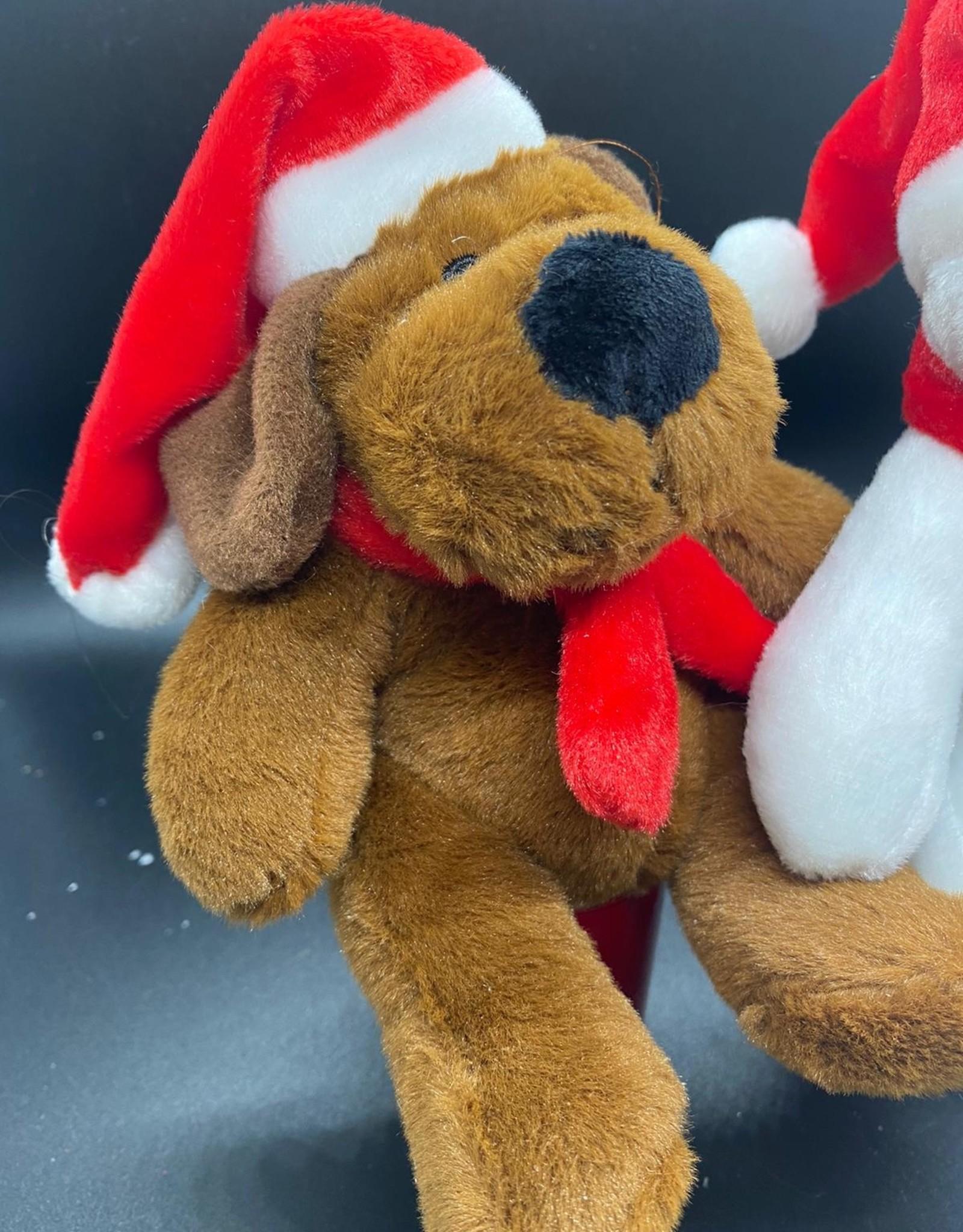 Sneeuwman/Hond met Wollen Sjaal