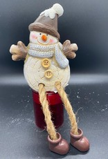 Randzitter Sneeuwpop