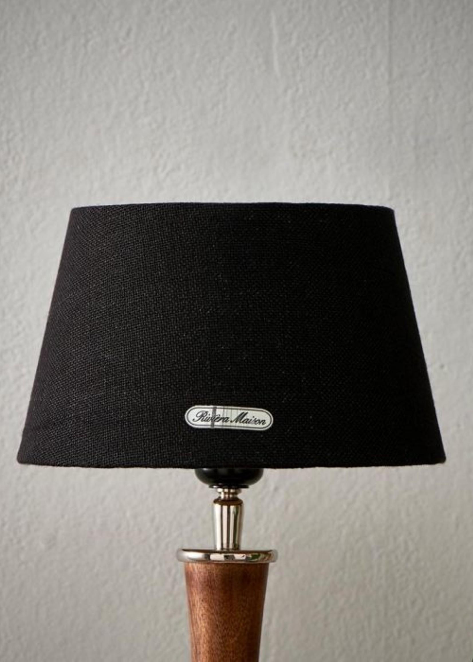 Riviera Maison Chic Lampshade black/gold 15x20
