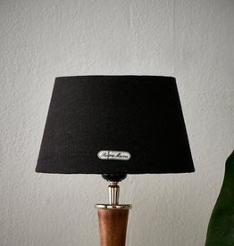 Riviera Maison Chic Lampshade black/gold 15x20