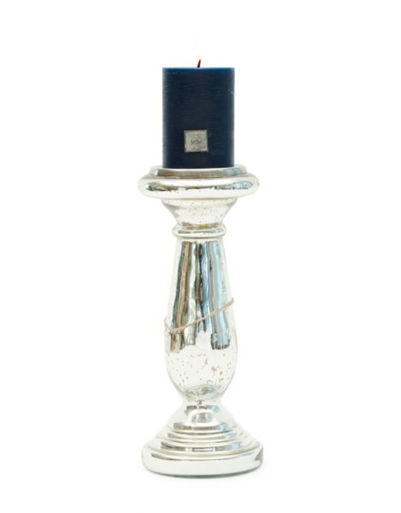 Riviera Maison Edgartown Candle Holder silver L