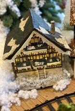 Huis voor kerstdorp