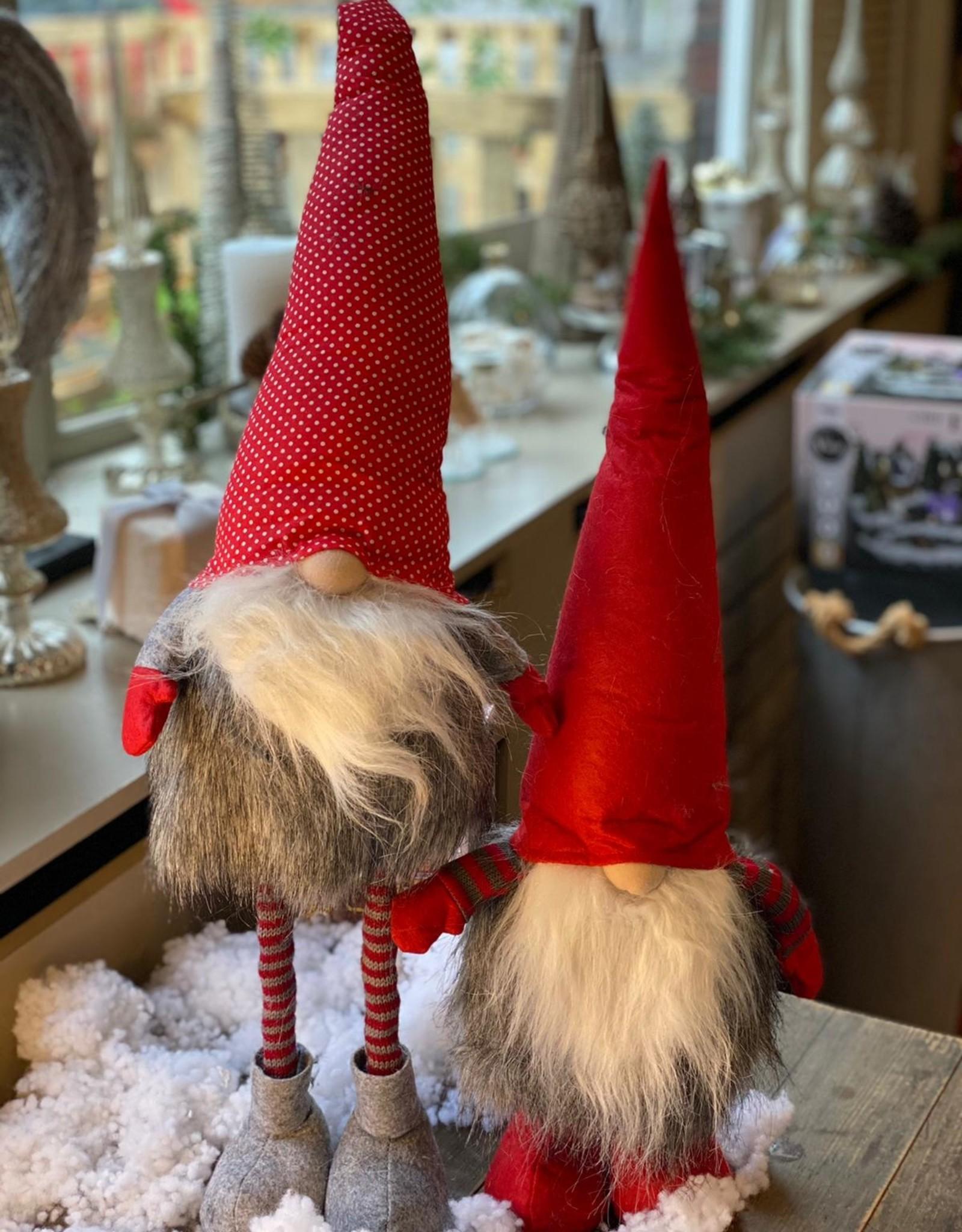 Kerst kabouter met lange benen