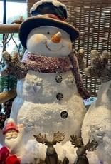 Sneeuwpop met led verlichting