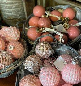 Mix Box Kerstballen Roze