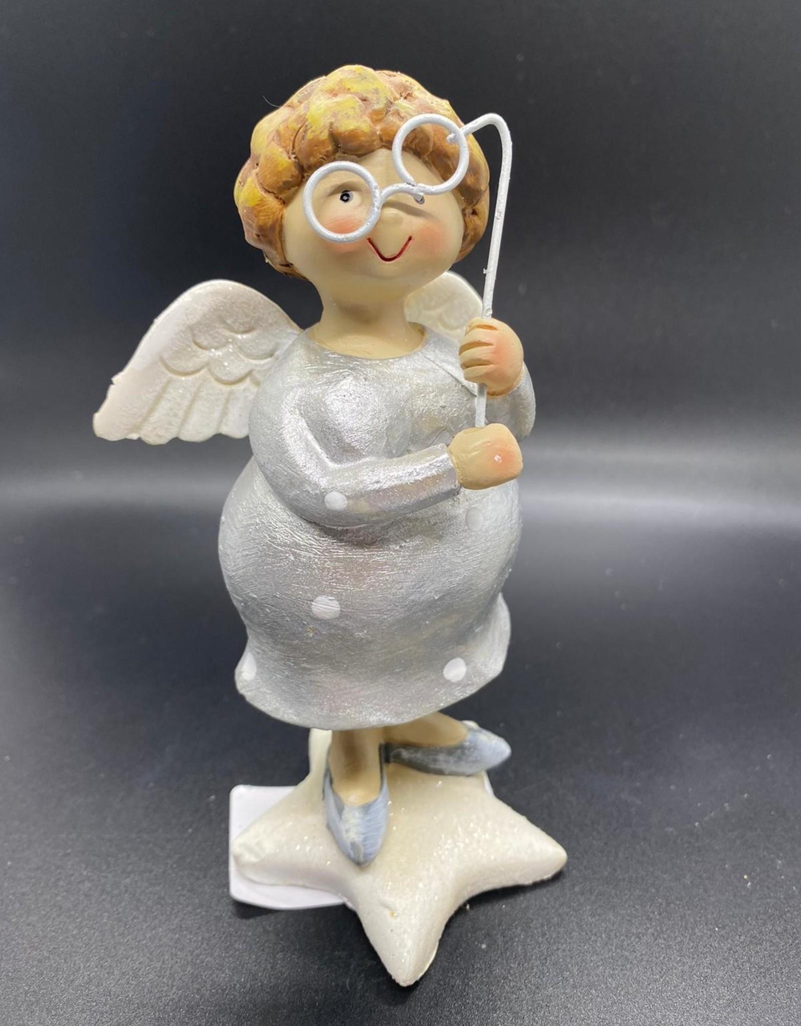 Engel met bril