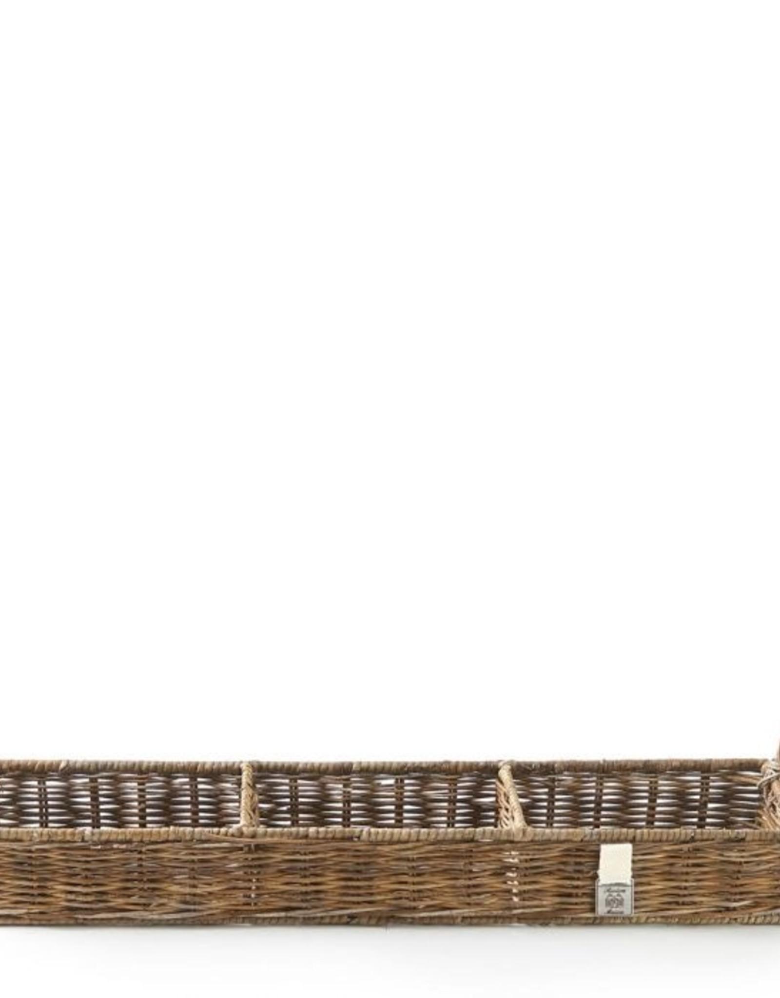 Riviera Maison Rustic Rattan Rectangular Basket