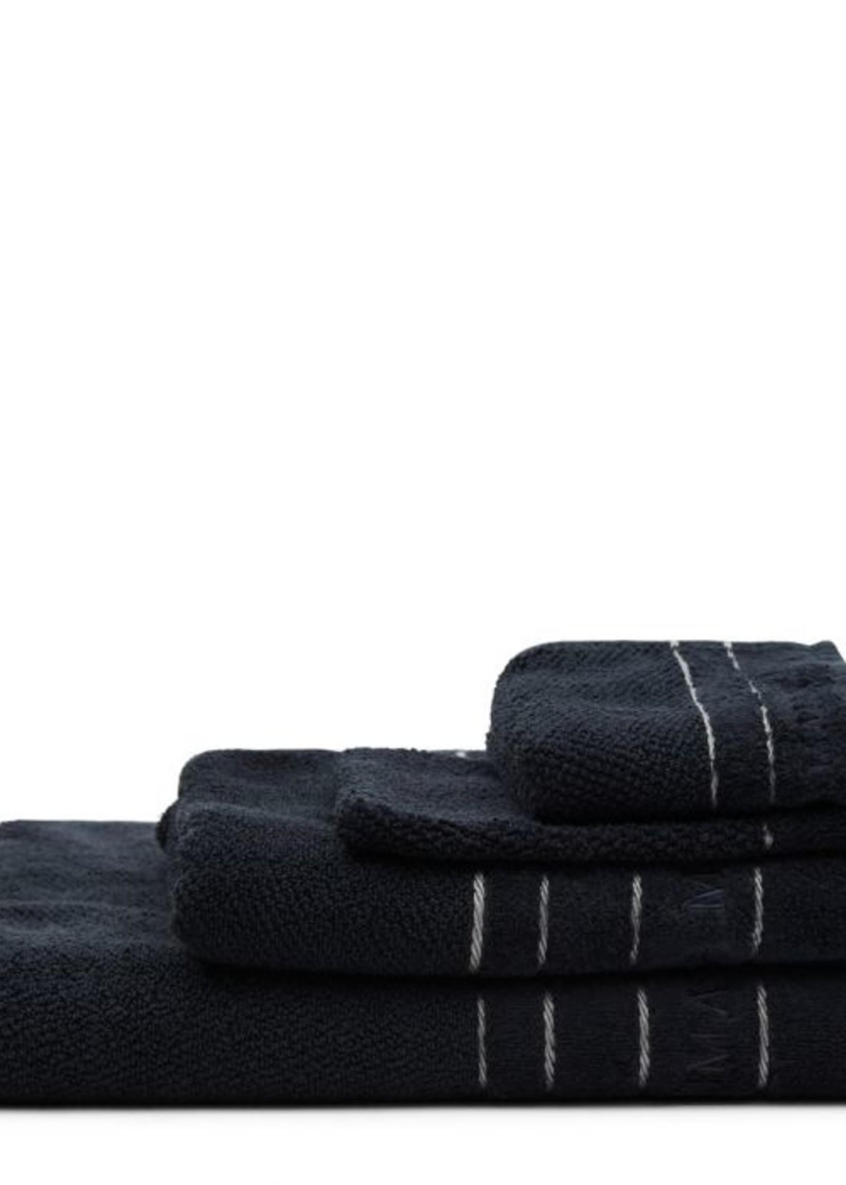 Riviera Maison RM Elegant Washcloth black