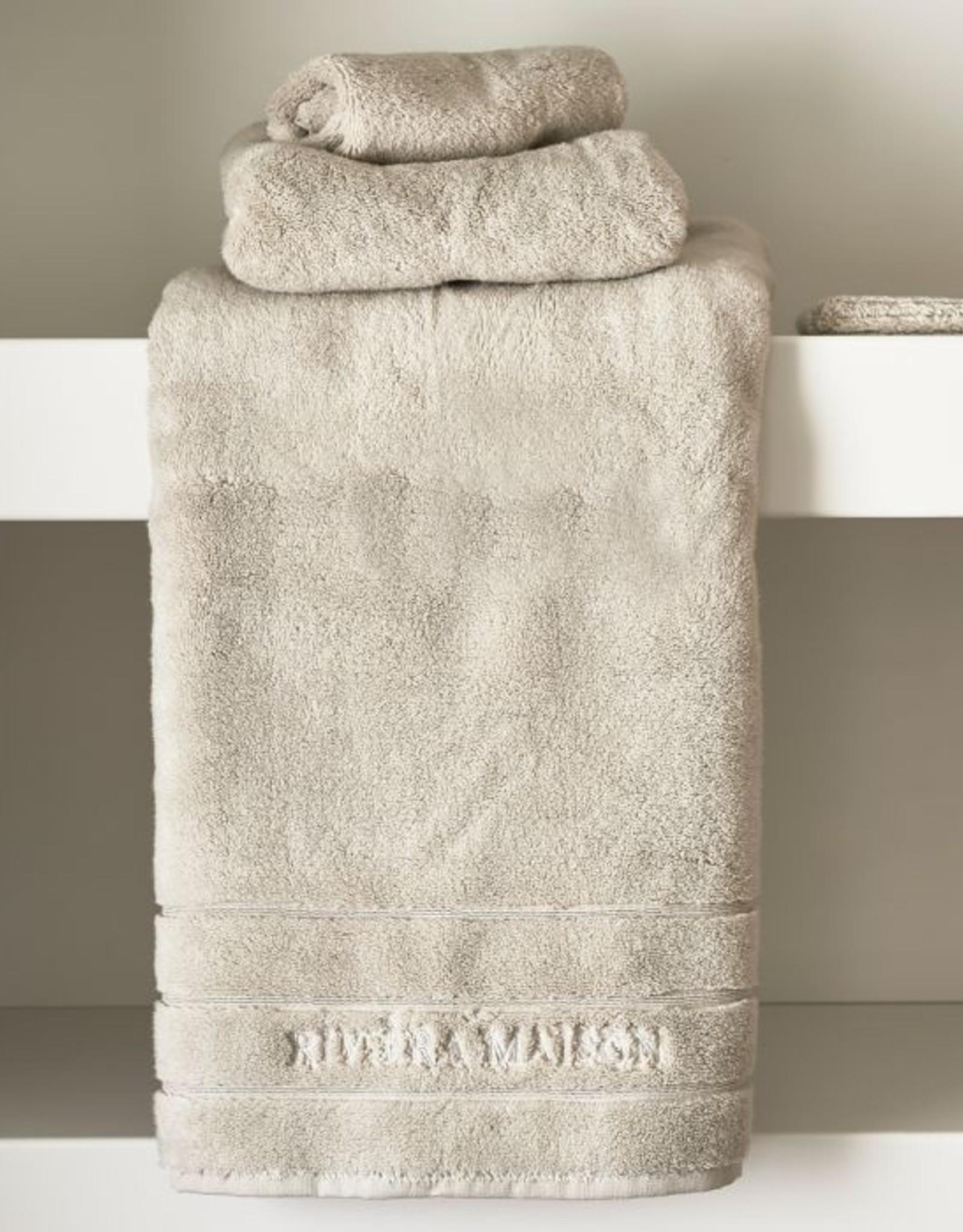 Riviera Maison RM Hotel Towel stone 140x70