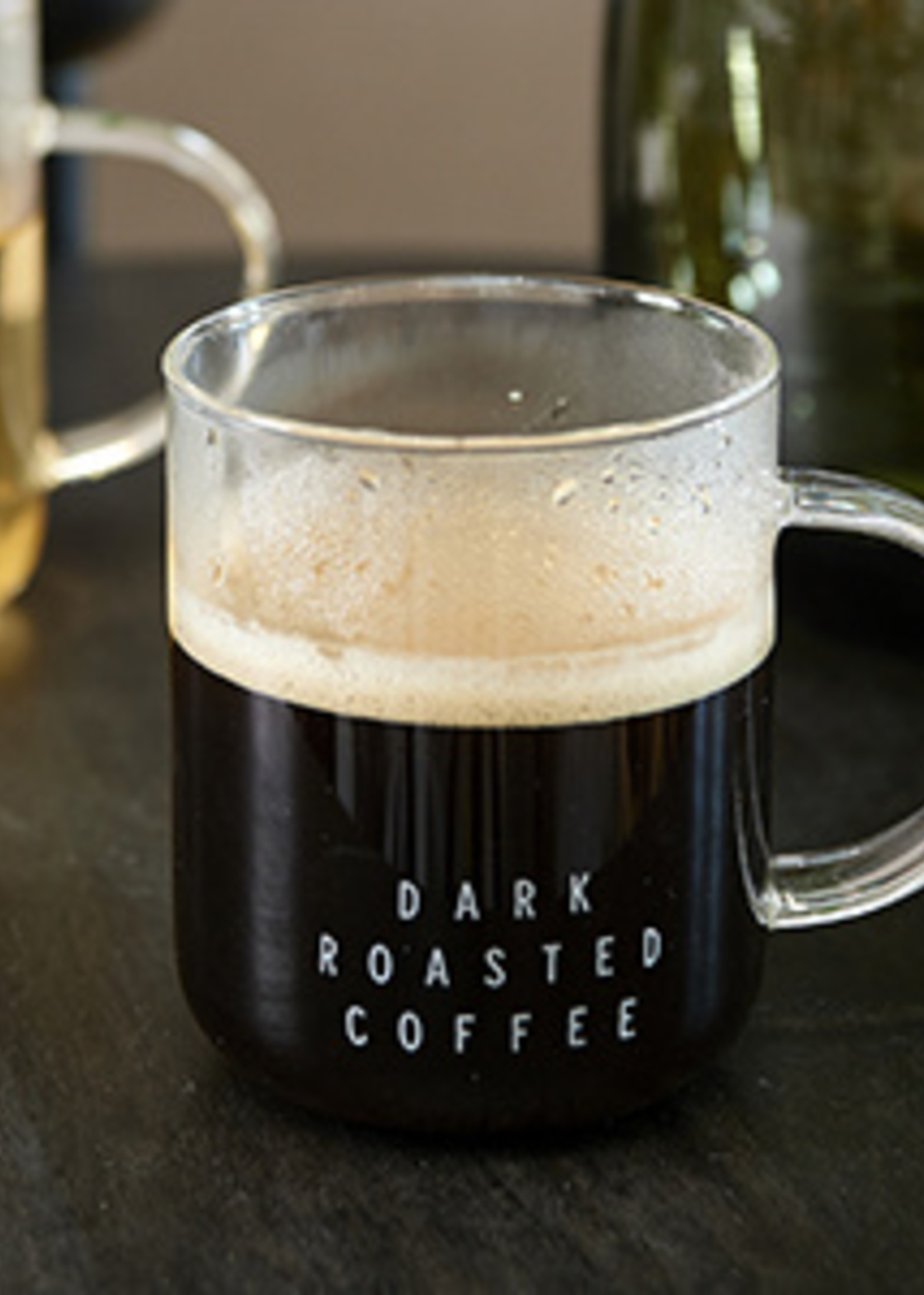 Riviera Maison Dark Roasted Coffee Glass