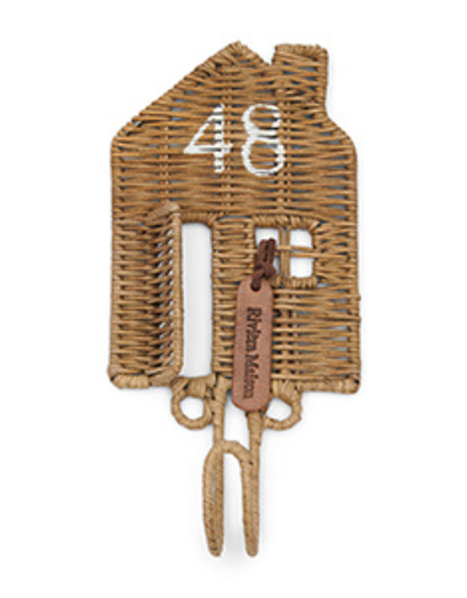 Riviera Maison Rustic Rattan Happy Home Hook