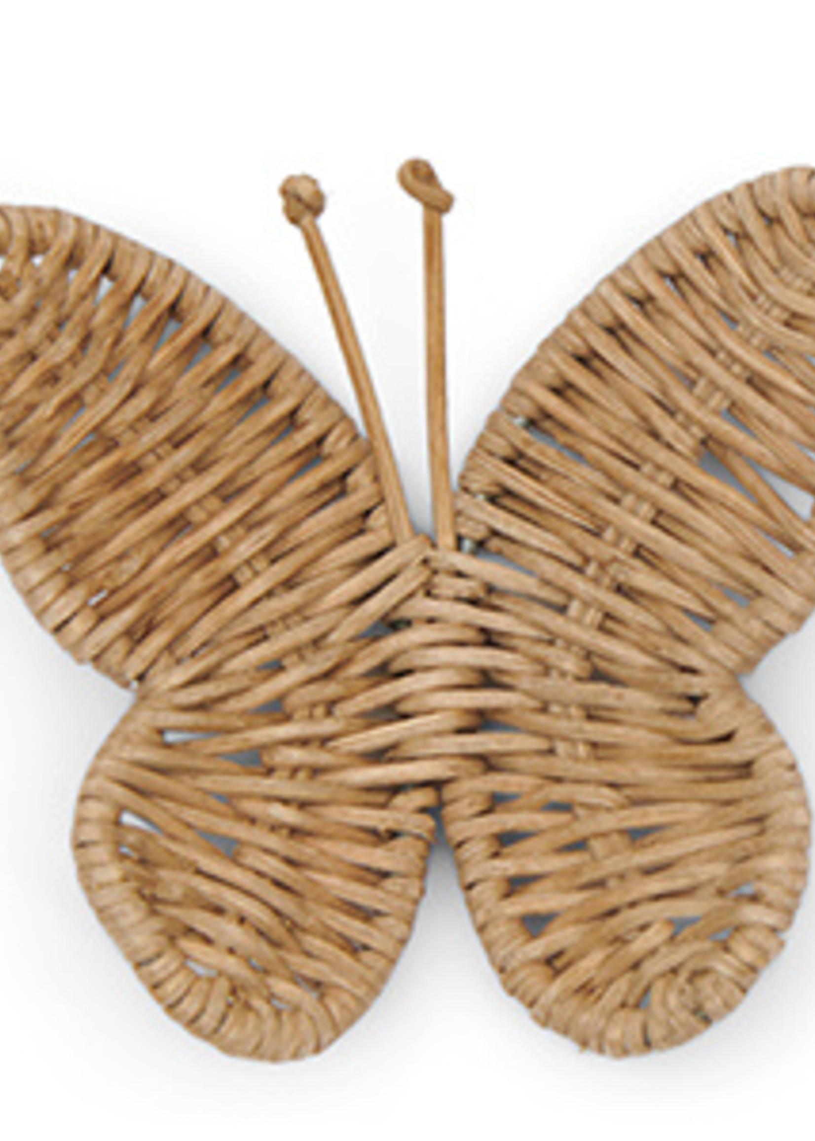 Riviera Maison Rustic Rattan Butterfly Decoration