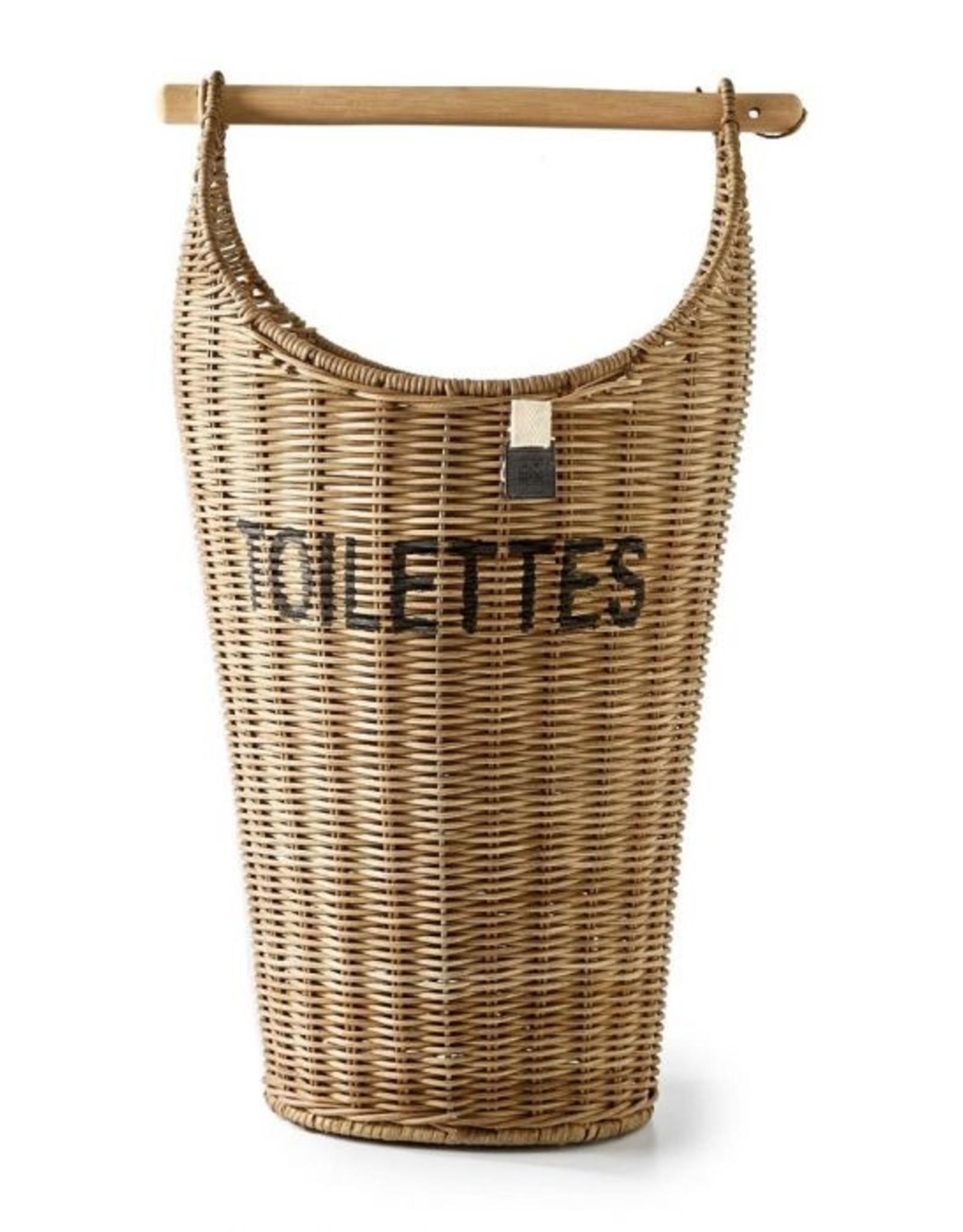 Riviera Maison Rustic Rattan Toilettes Basket