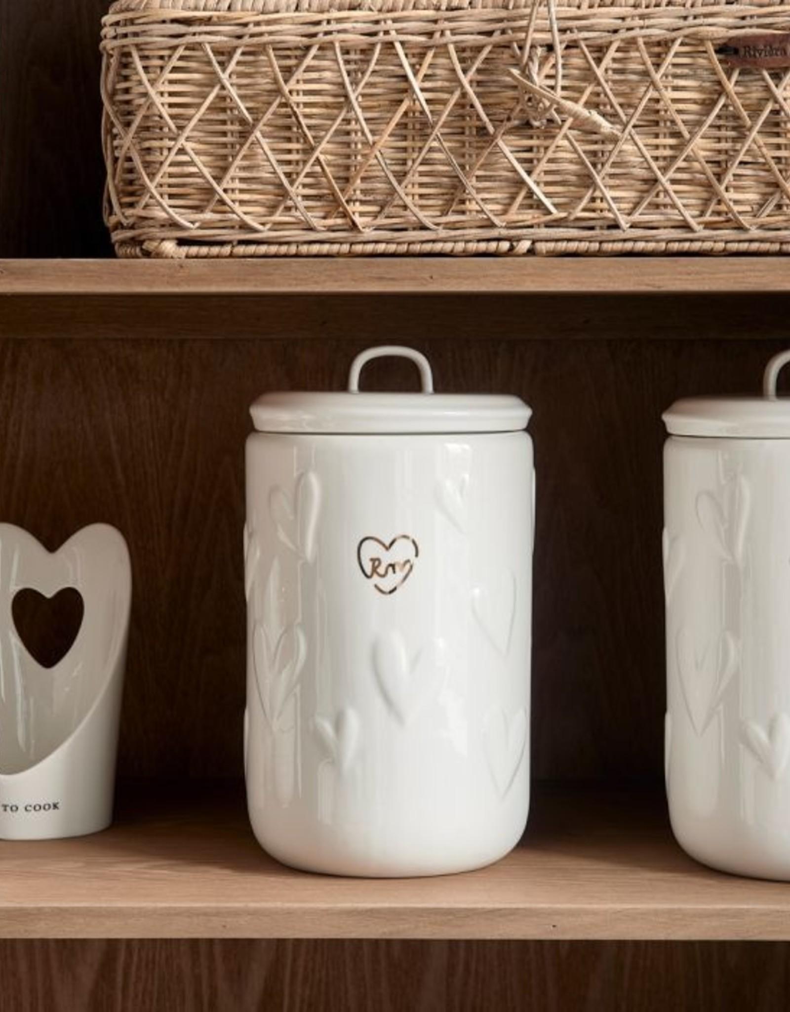 Riviera Maison Food Lovers Storage Jar L
