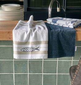 Riviera Maison The Seafood Kitchen Towel 2 pieces