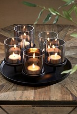 Riviera Maison Porto Candles Tray black