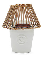 Riviera Maison RM Clay Candle Holder white