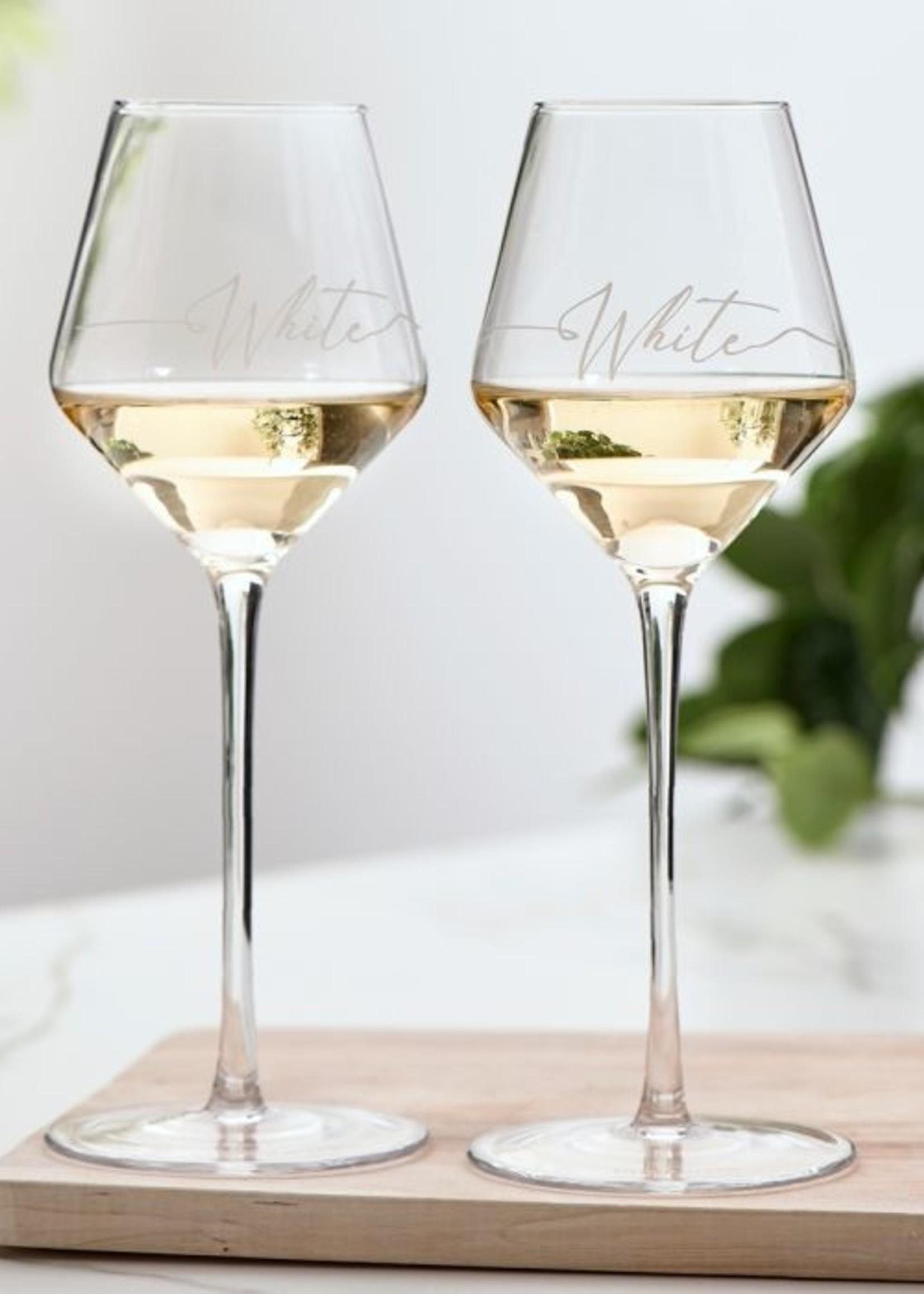 Riviera Maison RM White Wine Glass 2 pcs