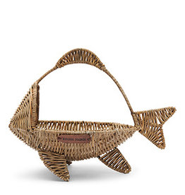 Riviera Maison Rustic Rattan Happy Fish Basket