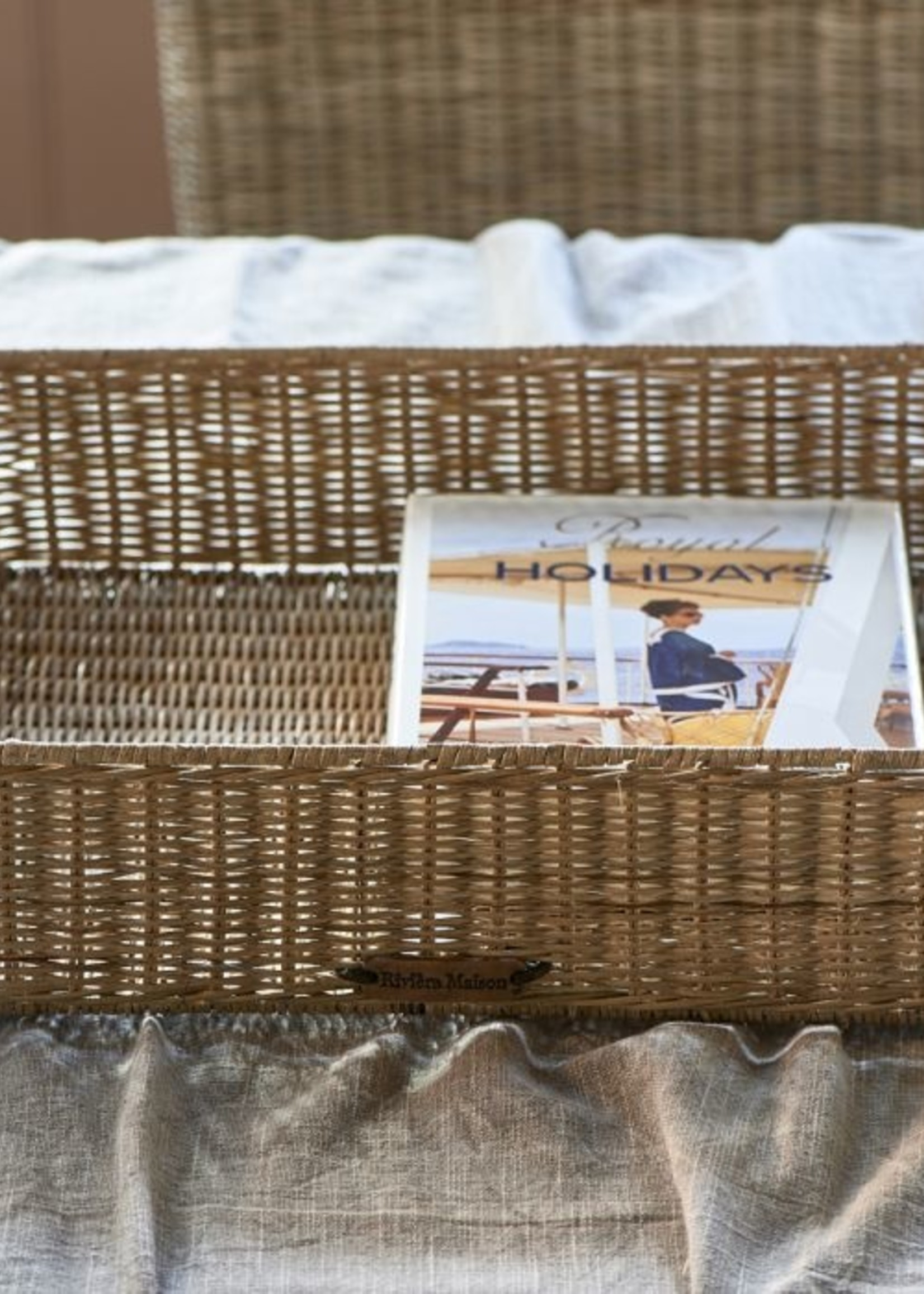 Riviera Maison Rustic Rattan RM 48 Square Tray