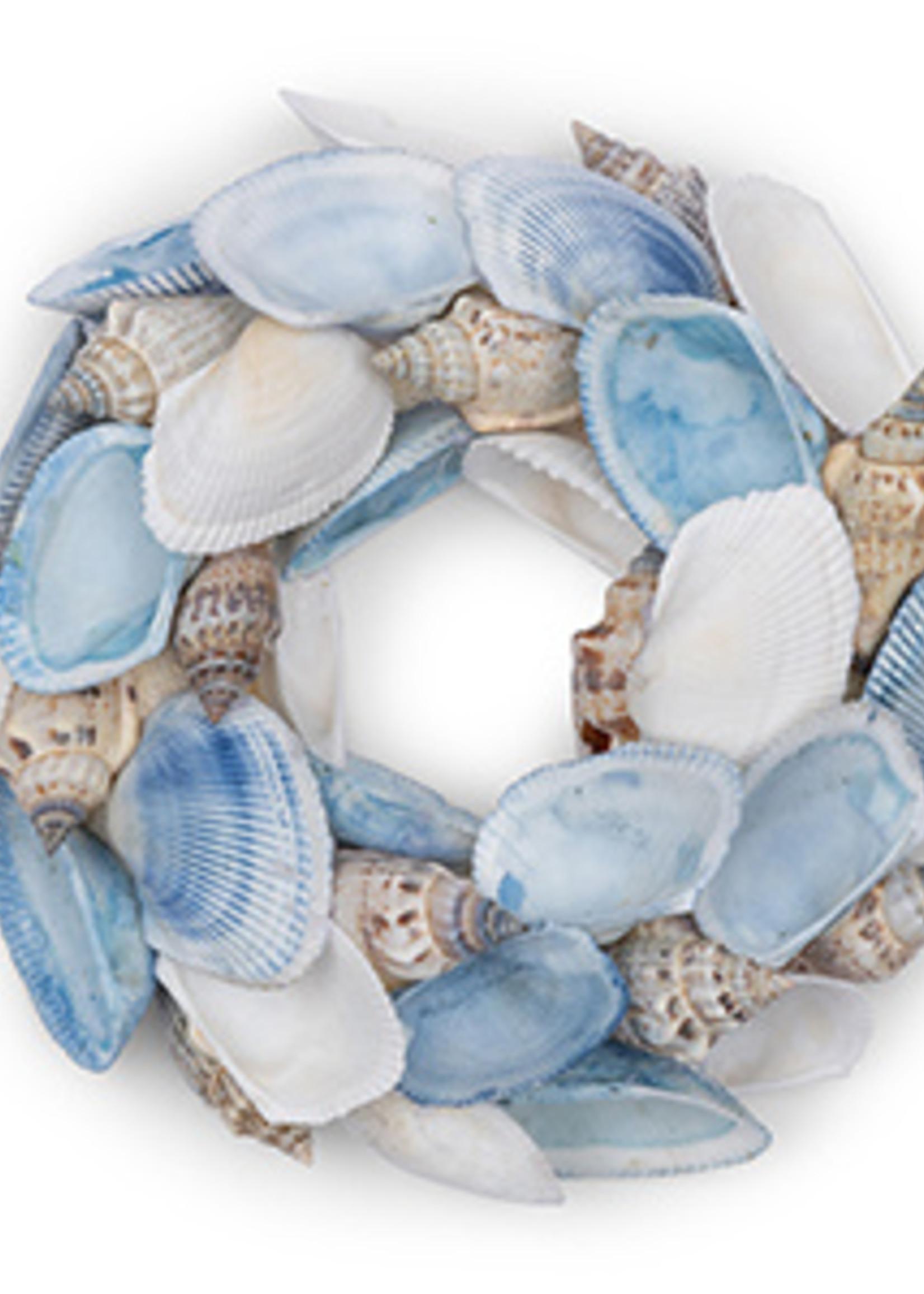Riviera Maison Blue Sea Shell Wreath Dia 15